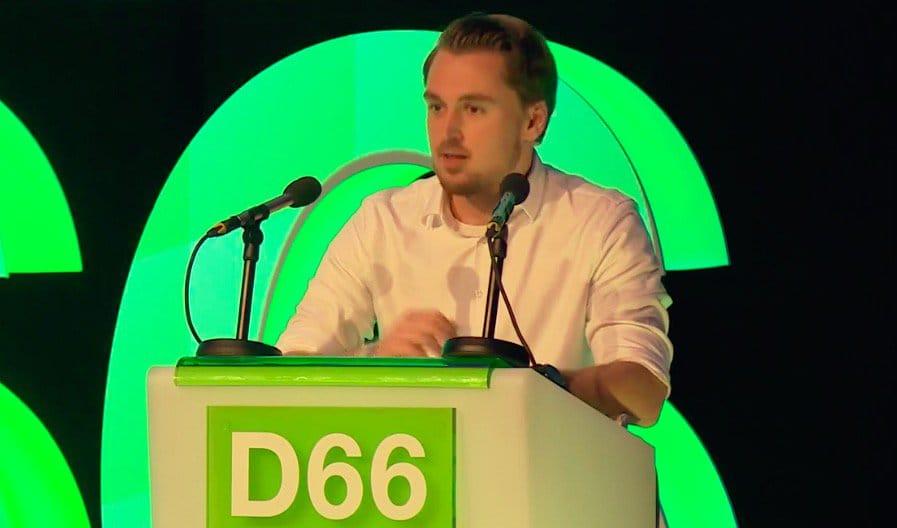 Speech Dennis van Driel op het D66-congres in 's-Hertogenbosch