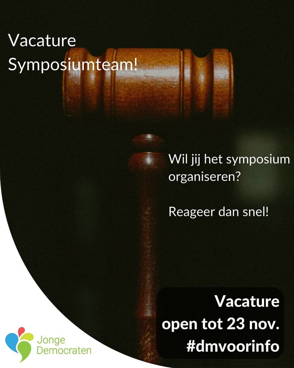 Vacature Symposiumteam